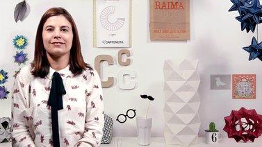 Creación de lámparas de Origami con papel. Un curso de Craft de Estela Moreno