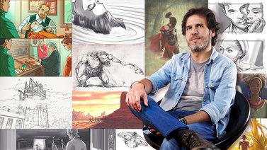 Ilustración de storyboards para Cine y Publicidad. Un curso de Ilustración de Pablo Buratti