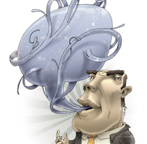 Ilustración Editorial. Um projeto de Design e Ilustração de Mᴧuco Sosᴧ         - 10.07.2009