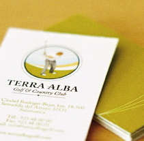 Terra Alba. A Design project by Tea for two Comunicación gráfica         - 18.08.2009