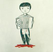 Musicopata. Un proyecto de Ilustración de vanessa  santos - Viernes, 02 de octubre de 2009 01:34:09 +0200