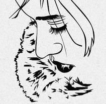 Retrato de Camino. A Illustration project by Chema Longobardo Polanco         - 22.10.2009