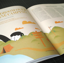 Een Kleine Camping. Un proyecto de Ilustración de Javier Arce - Miércoles, 25 de noviembre de 2009 12:26:54 +0100
