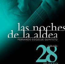 Las Noches de la Aldea. A Design project by Marilu Rodriguez Vita - Jan 11 2010 03:59 PM