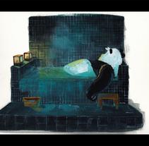 Taking furo. A Illustration project by Angela Aguado Morón - Feb 01 2010 02:15 PM