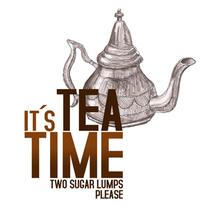 IT´S TEA TIME. Un proyecto de Diseño e Ilustración de Itziar San Vicente - 06-02-2010