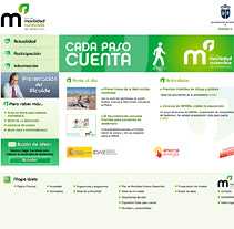 Web Valdemovilidad. A Design, Installations, Software Development, and UI / UX project by seven  - Feb 12 2010 05:19 PM