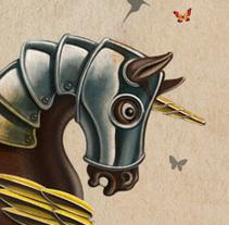 tiovivo. Un proyecto de Diseño e Ilustración de jorge fernández toledano - 17-02-2010