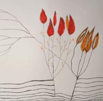 flores. Un proyecto de Ilustración de Jorgina Miralles Castelló - Martes, 09 de marzo de 2010 12:26:31 +0100