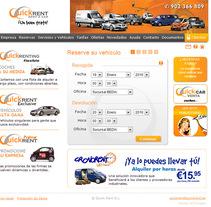 Web E-commerce Quick Rent. Um projeto de Design e UI / UX de Raul Piñeiro Alvarez         - 10.03.2010