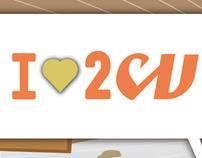 I (heart) 2cv. Un proyecto de Ilustración y Publicidad de jorge fernández toledano - Domingo, 14 de marzo de 2010 18:56:53 +0100