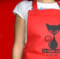 La Gata Lupe, logo. Un proyecto de Diseño y Publicidad de nathalie figueroa savidan         - 14.01.2011