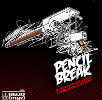 pencilbreak the book. A Design&Illustration project by devoner gonzalez - 15-04-2010