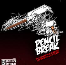 pencilbreak the book. A Design&Illustration project by devoner gonzalez - Apr 15 2010 05:09 PM