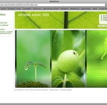 Memoria Iberdrola '09 . Un proyecto de UI / UX y Publicidad de Sara Soler Bravo - Domingo, 18 de abril de 2010 13:20:43 +0200