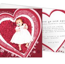 Tarjeta invitación fiesta de nacimiento. A Design, Illustration, and Photograph project by Ester Santos Poveda - Nov 18 2010 06:59 PM