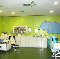 Hospital Gregorio Marañón. Un proyecto de Diseño, Ilustración e Instalaciones de Itziar San Vicente - 09-05-2010