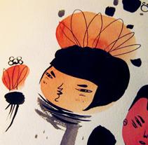 Malota Sketchbook. Un proyecto de Ilustración de Mar Hernández - 08-05-2010