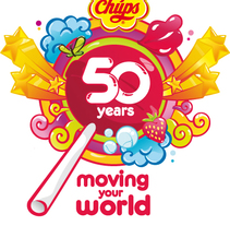 Logo Chupa Chups 50 Aniversario. A Design project by Jose Luengo Diez - Jun 08 2010 12:42 PM