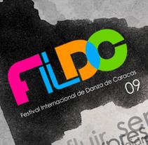 Festival Internacional de Danza de Caracas. A Design, Motion Graphics, Illustration, Film, Video, TV, 3D, Photograph, Music, Audio, and Advertising project by Elvis Zambrano Sánchez - Jun 13 2010 02:09 PM