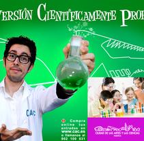 Diversión Cientificamente Probada. A Design, and Advertising project by Gabriel Serrano - 22-06-2010