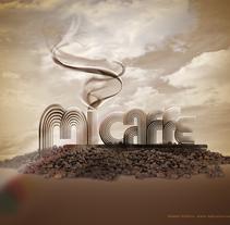 Mi Caffe, cuadros. Um projeto de Design, Ilustração e Publicidade de Raul Marcos  Giménez Robres         - 09.07.2010