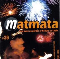 Matmata Guía de ocio. Un proyecto de Diseño y Publicidad de Antonio  Vivancos - Sábado, 12 de julio de 2003 00:00:00 +0200