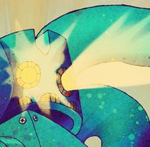 Extasis Robot. Un proyecto de Ilustración de Alberto Moreno         - 12.07.2010