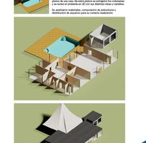 Proyecto Casa estilo Richard Rogers. Un proyecto de Diseño y 3D de Rodrigo Maroto - Lunes, 12 de julio de 2010 18:43:44 +0200