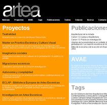 artea. Un proyecto de Diseño, Música, Audio, Instalaciones, Fotografía, Cine, vídeo y televisión de Kiko Fernandez         - 02.08.2010