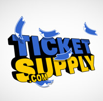 Ticket Supply logo. A Design project by Six Design - Aug 30 2010 03:26 AM