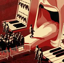 Kraftwerk-1970. A Design&Illustration project by Jesús  Pérez Doblas - Sep 03 2010 03:47 PM