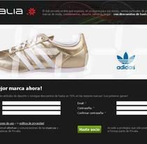 landing page. A Advertising project by Massimiliano Seminara - 07-09-2010