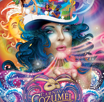 Cartel Carnaval Cozumel 2008. A Design, Illustration, and Advertising project by Leydi Alejandra Marí Rivero         - 04.10.2010