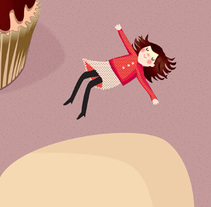 Cupcake world. A Illustration project by Sara Olmos - Oct 06 2010 02:01 PM