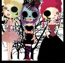 tres femmes. A Illustration project by Nexxxa Fernandez - Oct 06 2010 03:15 PM