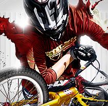 BMX Freestyle art. Un proyecto de Diseño e Ilustración de Alex Heuchert - Miércoles, 20 de octubre de 2010 18:34:10 +0200