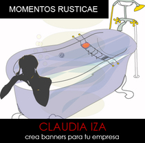 """MOMENTOS"" en hoteles RUSTICAE. A Design, Illustration, Advertising, and Software Development project by CLAUDIA IZA         - 30.10.2010"