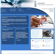 Instituto Asclepios. Un proyecto de Diseño y Desarrollo de software de Adrian Cerezo - Miércoles, 03 de noviembre de 2010 16:16:32 +0100