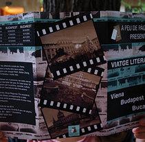 Tríptico Ciclos literarios. Un proyecto de Diseño de Toni Fornés         - 08.11.2010