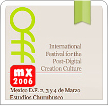 OFFF™ MX 2006. A UI / UX, Design&Illustration project by Alexandre Martin Villacastin - 11.24.2010