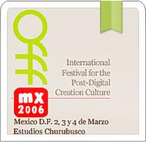 OFFF™ MX 2006. Un proyecto de Diseño, Ilustración y UI / UX de Alexandre Martin Villacastin - 24-11-2010