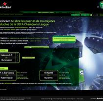 Heineken BackStadium. Un proyecto de Desarrollo de software y Publicidad de gustavo jimenez - Jueves, 25 de noviembre de 2010 03:29:33 +0100