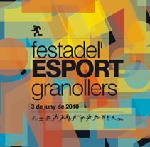 Festa de l'esport. Granollers 2010. Um projeto de Design de lluís bertrans bufí         - 25.11.2010