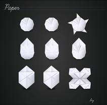 Paper icons. A Design&Illustration project by Cubik  - Nov 25 2010 11:54 PM