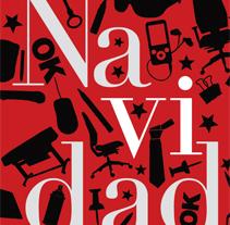 Diseño Felicitación Navidad FDP. Um projeto de Design de Óscar Labrador Atienza         - 01.12.2010