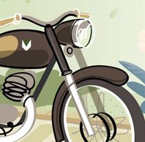 Dos en la carretera. Um projeto de Ilustração de SKIZOGRAFICS         - 10.12.2010