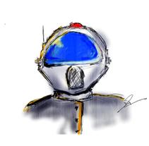 azul. Un proyecto de Diseño e Ilustración de Hernan Ramirez - Martes, 21 de diciembre de 2010 14:35:36 +0100