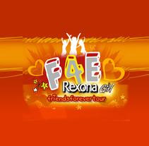 Página completa para Rexona F4E tour. Un proyecto de  de Jesús Corrales         - 26.12.2010