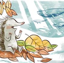 Un Oso con insomnio. Un proyecto de Ilustración de Irati Fernandez Gabarain         - 07.01.2011